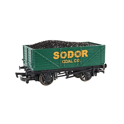 Thomas & Friends - Sodor Coal Co. Wagon with Load - HO Scale: Toys & Games