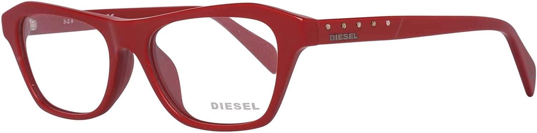Rot Diesel Brillengestelle DL5147-D 54067 Rund Brillengestelle 54