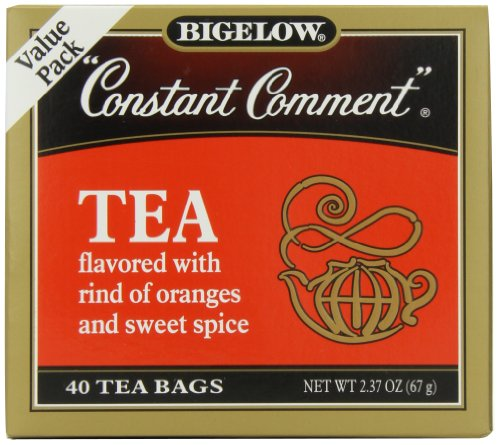 Bigelow Constant Comment Black Tea, 40 Count Box (Bigelow Black Tea)