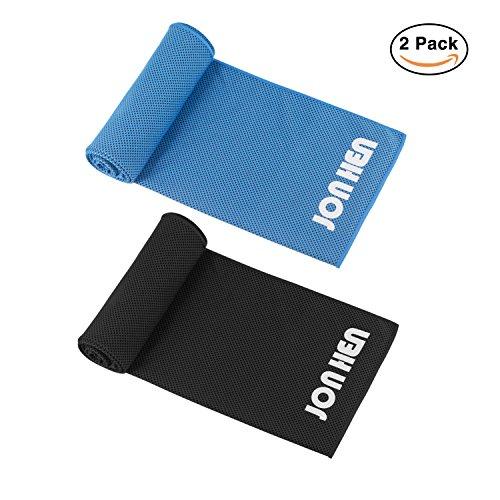 Jonhen - Toalla de refrigeración, 100 x 30 cm, secado rápido, toalla deportiva para alivio instantáneo, para enfriar en cuello, cinta del pelo, ...