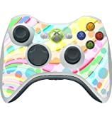 Colorful Design Bright Colors Lines Design Xbox 360 Wireless Controller Vinyl Decal Sticker Skin by Moonlight Printing