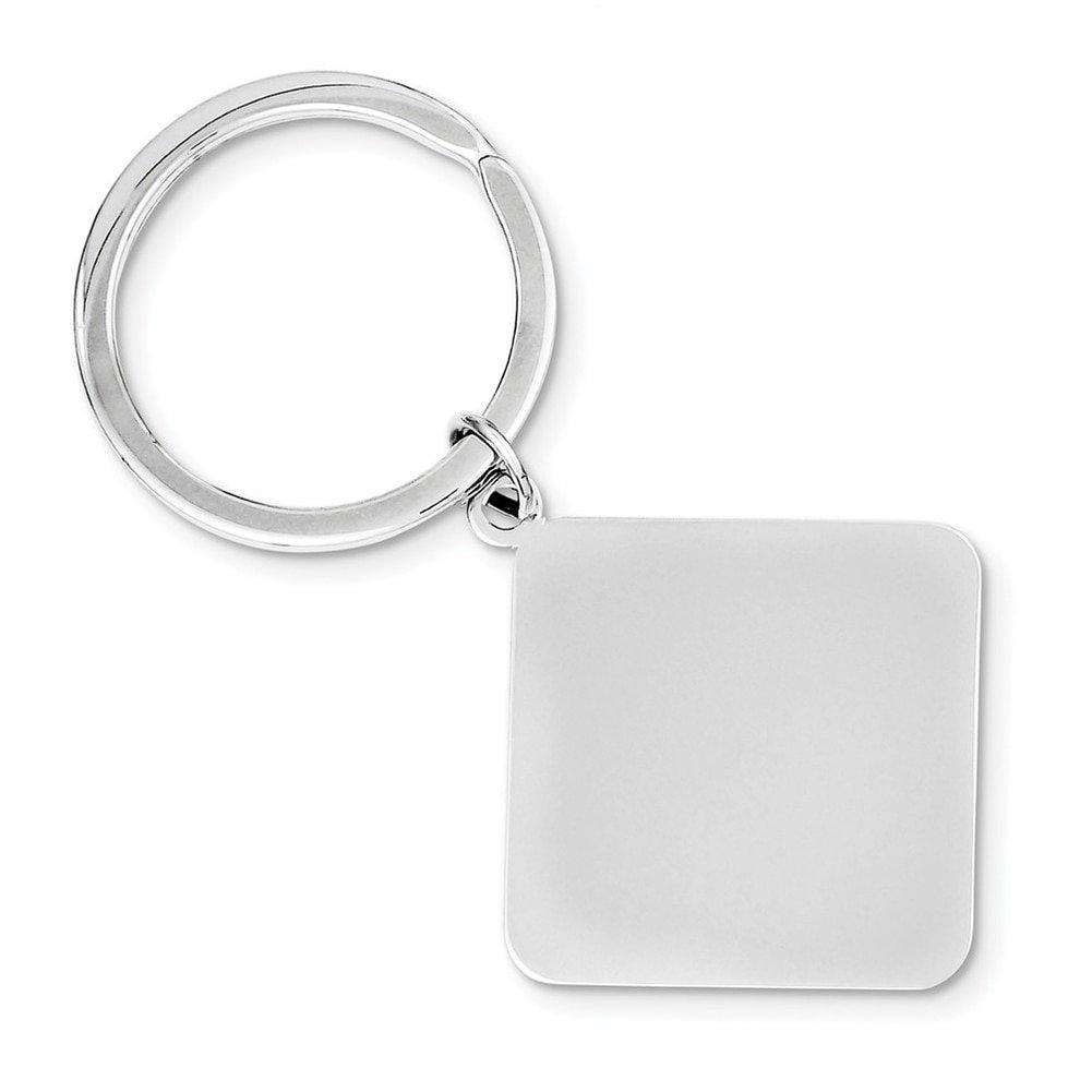 Lex & Lu Sterling Silver Key Chain LAL116613