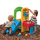 kids slide indoor - Step2 Play Ball Fun Climber With Slide For Toddlers