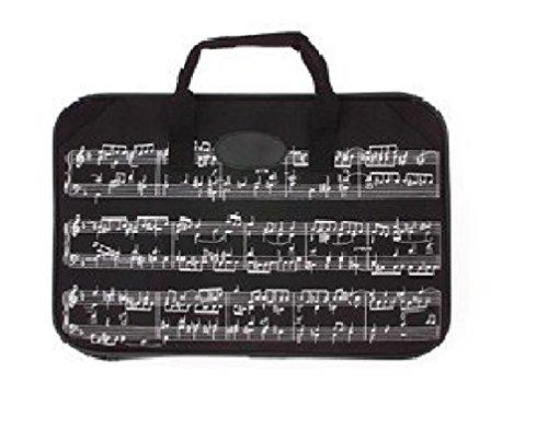 Trenton Gifts Sheet Music and Portfolio Briefcase With Music Design | Black