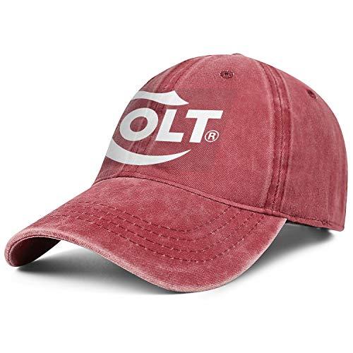 - Colt Logo Women Men Denim Hats Retro Baseball Pirate Cap