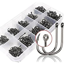Goture High Carbon Steel Fishing Hooks Have different Size Small Size Set Fishing Gear Equipment Accessories