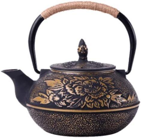 XJJZS Manual de Hierro Caldera de té Especial Caldera eléctrica Estufa de cerámica Tetera Tetera de Hierro Fundido de Hierro Pot