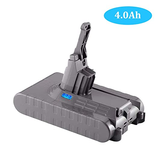 4000mAh V8 for Dyson 21.6V Battery Replacement Lithium-ion V8 Absolute,V8 Animal, V8 Fluffy Cordless Handhold Pet Version Vacuum