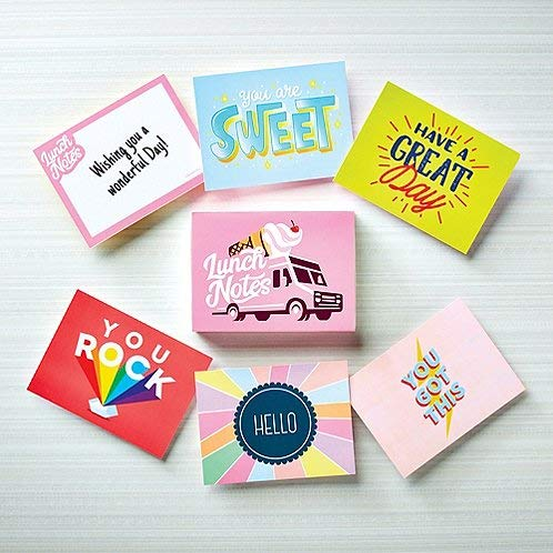 (Inspirational Lunch Box Notes - Employee Appreciation and Recognition Gifts - Qty. 24 Cards )