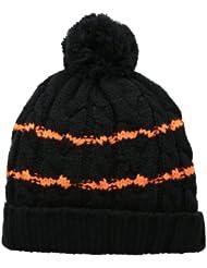 (2.4折)$8.96,Spyder Men Bug Band Black/Black/Bright Orange保暖帽,