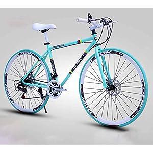 51 bAmf4szL. SS300 JXH Le Biciclette da Uomo E da Donna Road, 26 Pollici, Biciclette per Soli Adulti, Acciaio al Carbonio, Telaio Strada…