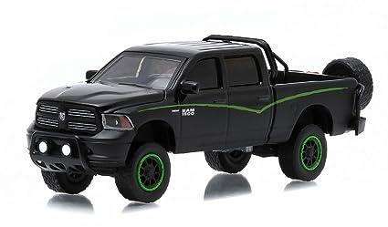 Dodge Pickup Trucks >> Greenlight 2014 Dodge Ram 1500 Pickup Truck Custom Black All Terrain Series 1 1 64 35010 F