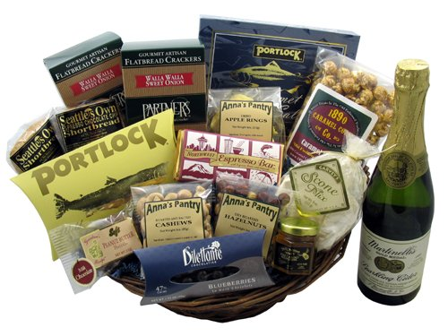 Northwest Selections Gift - Basket Northwest Wine