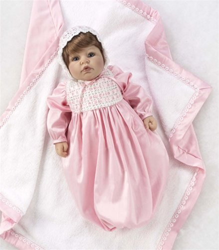 "Lee Middleton Artist Studio Collection My Precious Love 20"" Vinyl Baby Girl Doll"