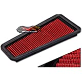 Rtunes Racing For OE Replacement High Performance DRY Drop-In Panel Air Filter - GF-1548