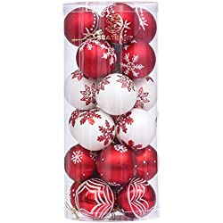 Christmas Baubles Balls Ornaments Set