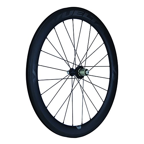 Clincher Rear Pro Wheel - Vuelta Carbon Pro V3 700c Hand Built Clincher 11sp Rear Road Wheel
