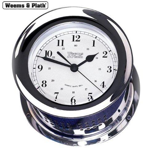 is Collection Quartz Ship's Bell Clock (Chrome) ()