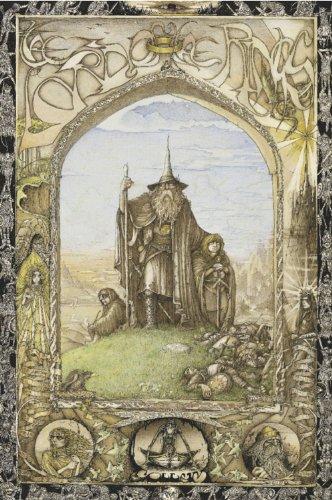 Studio B Lord Rings Poster