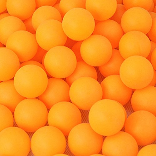 - YUSHho56T Novelty & Gag Toys Ping Pong Balls 40mm/1.6inch Pack of 150Pcs Balls Practice Ping Pong Balls Table Tennis Ball Set Durable, Party Lottery Balls- Yellow