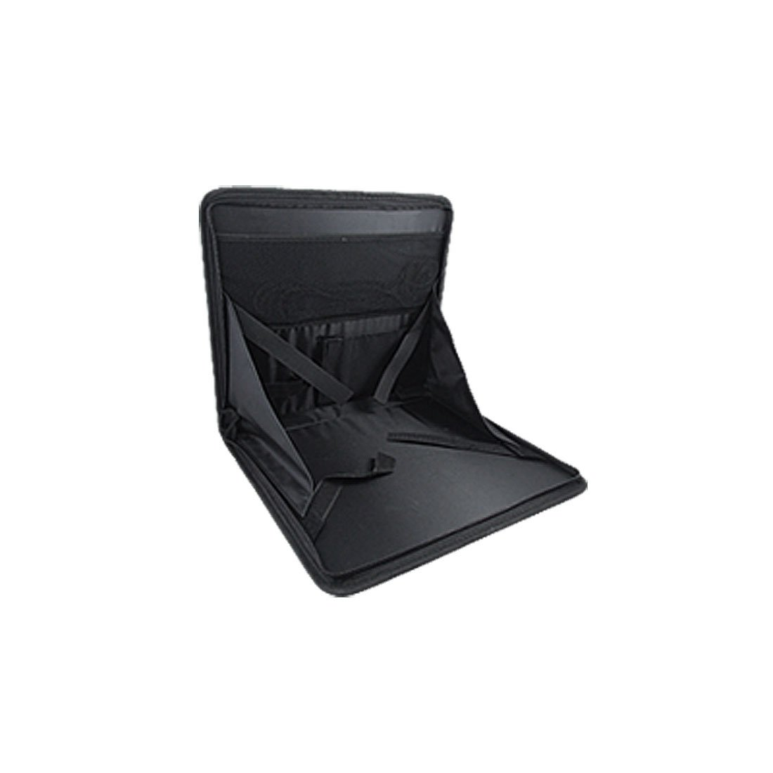 Siège auto pliable Plateau alimentaire Table support pour ordinateur portable Noir
