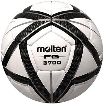 MOLTEN fg3700 (balón de fútbol NFHS Aprobado), Color Negro/Plata ...