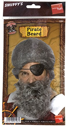 Images Pirates Caribbean Costumes (Deluxe Costume Grey Beard)
