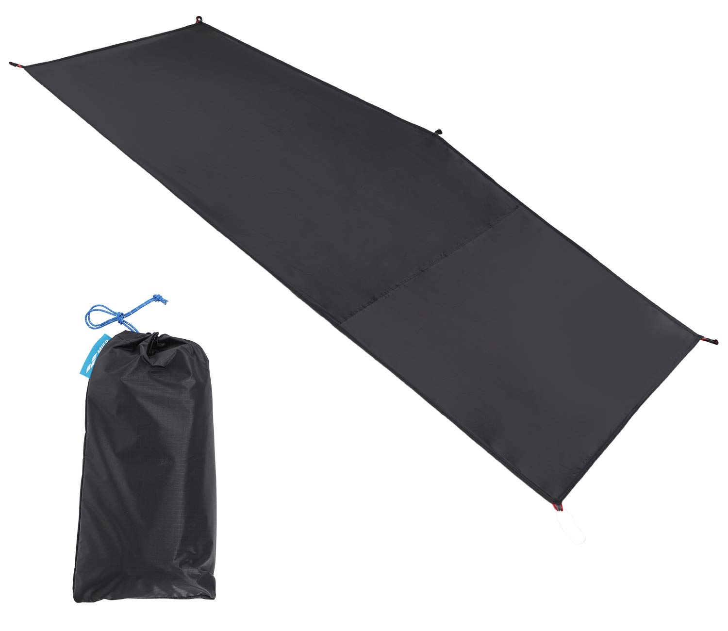 MIER 1-2 Person Ultralight Waterproof Footprint Outdoor Camping Tent Tarp Canopy Blanket Picnic Ground Sheet Mat, Ultralight Tent Fitted, 1 Person by MIER