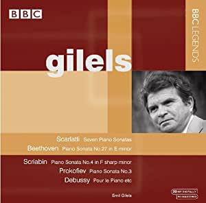 Emil Gilels: Piano Sonatas