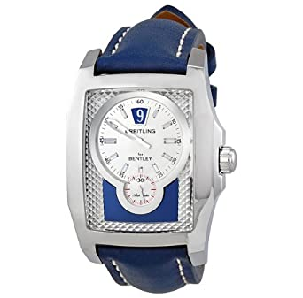 Amazon Com Breitling Bentley Flying B Automatic Jumping Hour Blue