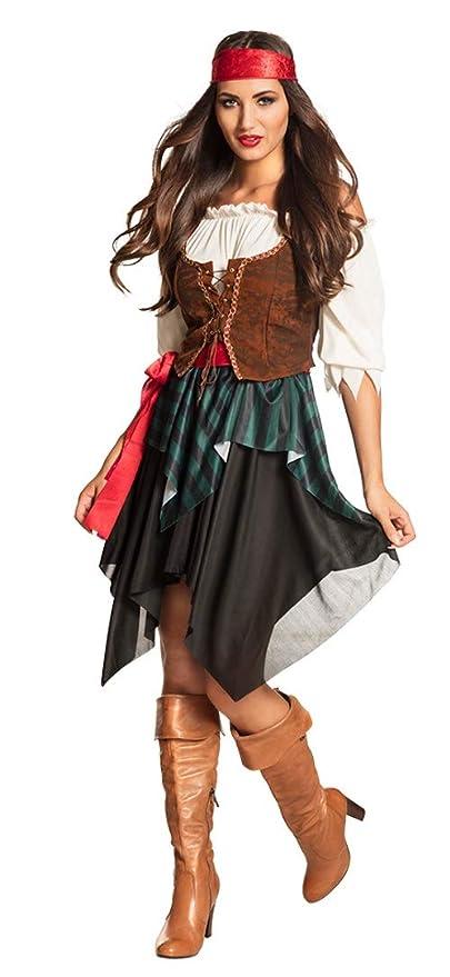 Boland Disfraz de tormenta Pirata para Mujer, Talla 36/38: Amazon ...