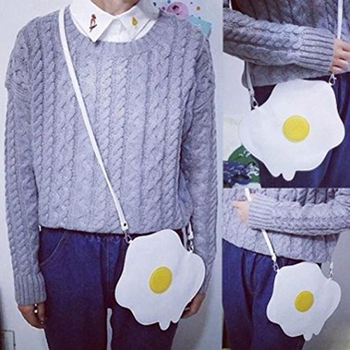 Handbag Bag Women Cute Fashion Eggs Poached Shoulder Purse IqaCI