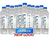 KAQUN Water 12-Pack, Oxygenated & Refreshing, Oxygen Infused Bottled Drinking Water, Chemical Free, Detox, for Kaqun Therapy, Authorized Retailer
