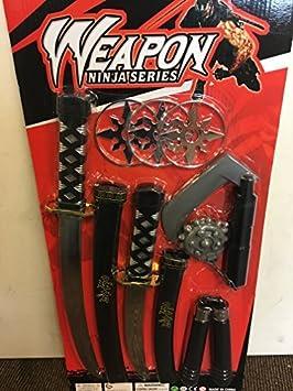 Infantil Ninja Espada Grande Juguete Armas Set Teenage ...