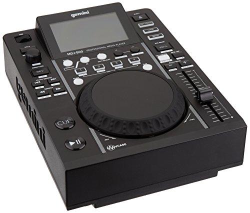 Gemini MDJ-500 | Professional DJ USB Media Player (Player Dj Gemini Cd)