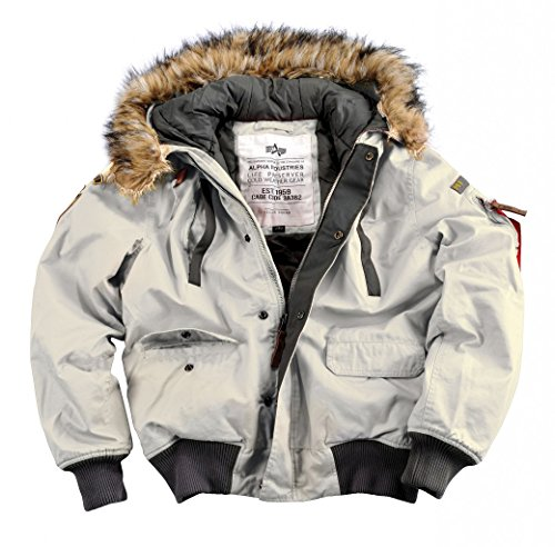 Mountain Jacket Alpha Jacke Industries White Off wS8avqST