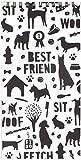 FRINGE STUDIO Fringe Cp Dog Silhouette Notepad (957004)