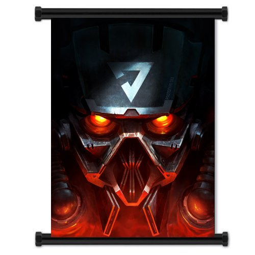 Killzone 3 Game Fabric Wall Scroll Poster  Inches