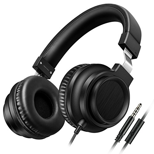 Sound Intone I8 Over-Ear Headphones with Microphone Bass Ste