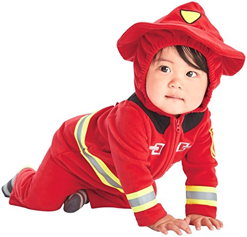 Carter 's Baby Boys' disfraces, Fire Fighter (Red), 18 meses