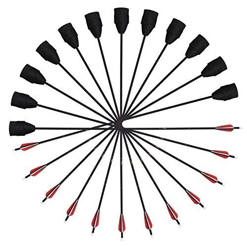 SinoArt Foam Tip Safe Combat Archery Carbon LARP Arrow