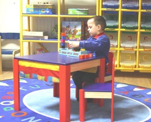 Child's Table and 2 Chairs Set EQM