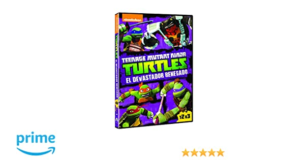 Las Tortugas Ninja: El Devastador Renegado [DVD]: Amazon.es ...