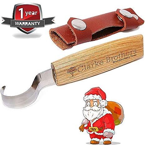 Juego de herramientas para tallar madera con gancho y ...