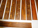 ONE cocobolo quartersawn, sanded fingerboard 14'' long x 2'' wide x 1/4'' thick, kd