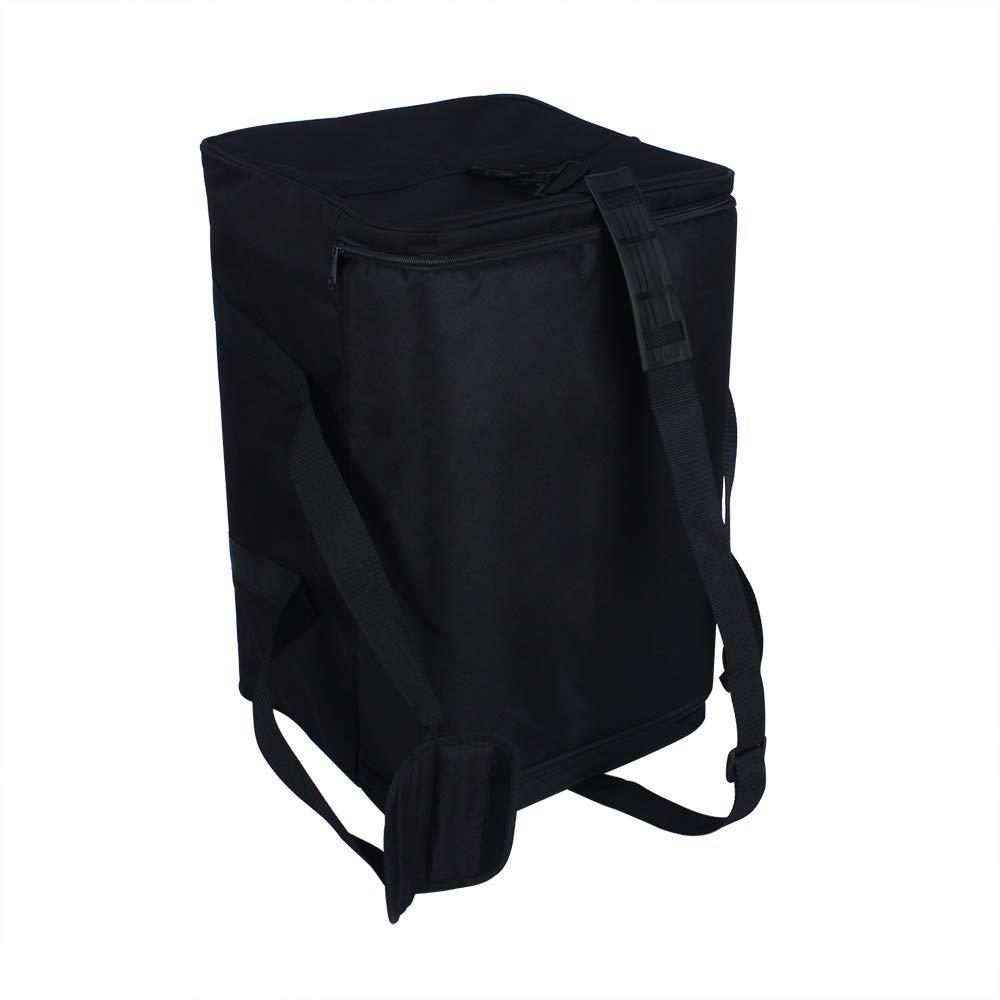 Amazon.com: Leoie Cajon adulto caja de bater\u00eda mochila caja Oxford tela 5MM acolchado de algod\u00f3n con llevar correa de hombro de la manija: Musical ...