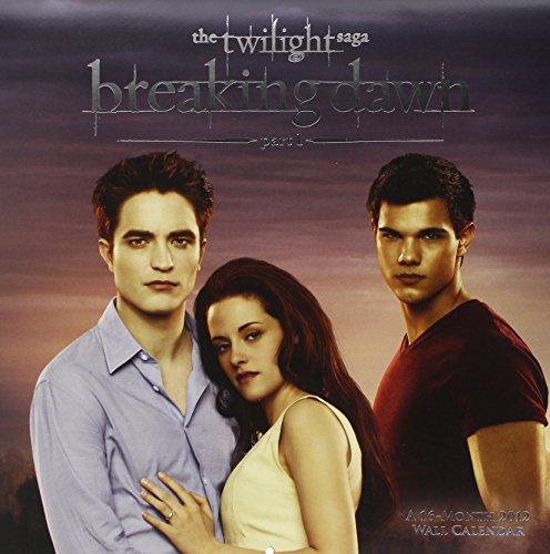 The Twilight Saga - Breaking Dawn 2012 Wall Calendar (Twilight Saga (Calendar))