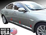 Made In USA! 2009-2015 Jaguar XF Accent Body Side Molding Trim Overlay 1 1/4'' Wide 6PC