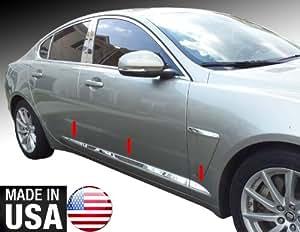 Amazon.com: Made In USA! 09-2011 Jaguar XF Accent Rocker Panel Chrome