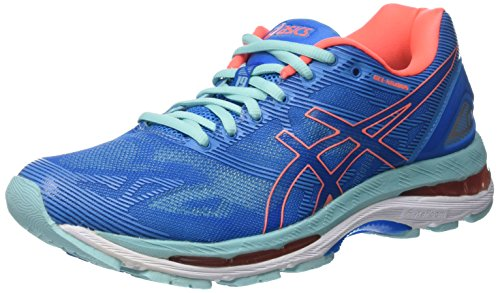 Blue Nimbus Azul 19 Running Splash Zapatillas Gel Diva Asics para Mujer Coral Flash de Aqua pHwvv5